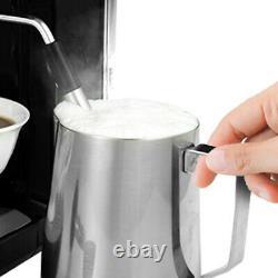 1300W Espresso Coffee Machine 20 Bar With Milk Frother Wand 900ml Water Tank