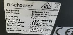 2010 Schaerer Coffee Art Plus Fully Automated Coffee Machine Espresso Cappuccino