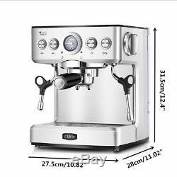 2.1L Professional Espresso Coffee Machine Maker Bar Cappuccino Latte The Barista