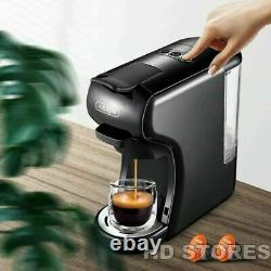 3 in 1 Multiple Capsule Espresso Coffee Machine 19 Bar Nespresso Cofee Maker