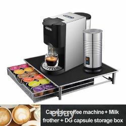 4In1 Capsule Expresso Machine Capsule Coffee Ground Coffe Maker Powder Machine