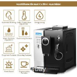Automatic Espresso Machine Cappuccino Coffee Machine Maker 19 Bar w Milk Forther