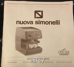 BRAND NEW Nuova Simonelli Professional Oscar Espresso/Coffee Machine Black