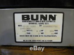BUNN Espress ES-2G Espresso/Cappuccino Coffee Grinder