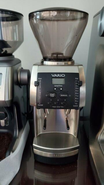 Baratza Vario Ceramic Burr Coffee Grinder 885 Upgraded To 886
