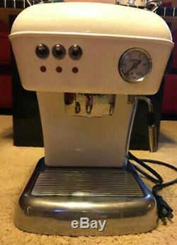 Beautiful Ascaso Dream Cream Color Espresso Coffee Machine Used