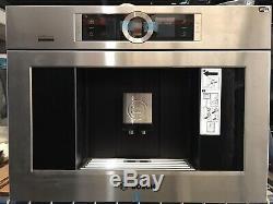 Bosch BCM8450UC 24 Wi-Fi Smart Built-in Coffee Machine Milk Container Grinder