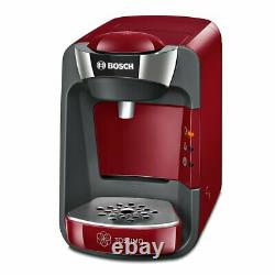 Bosch TAS3203 Tassimo Suny Coffee Maker Brewer Automatic Of Capsules Red