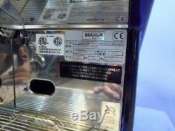 Brasilia Portofino Del2 Espresso / Cappuccino Commercial Coffee Machine NEW