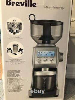 Breville BCG820BSSXL Smart Grinder Pro Coffee Bean Grinder, New
