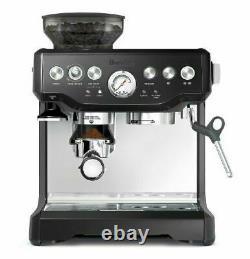 Breville BES870BSXL The Barista Express Coffee Machine, Black 2, Sesame