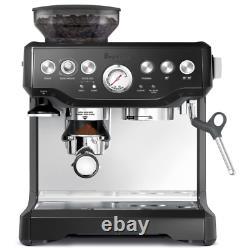 Breville BES870BSXL The Barista Express Coffee Machine, Black Sesame, 2