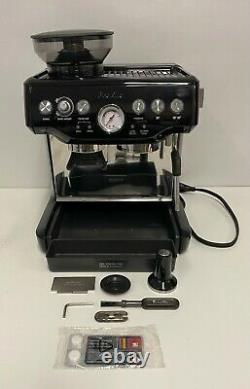 Breville BES870BSXL The Barista Express Coffee Machine, Black Sesame- READ