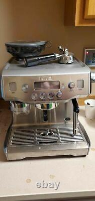 Breville BES980XL Coffee Maker Stainless Steel refurbished