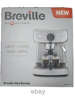 Breville Barista Mini 1300W Espresso Coffee Machine Stainless Steel