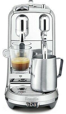 Breville Nespresso Creatista Plus Coffee Espresso Machine, 1, Stainless Steel