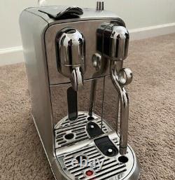 Breville Nespresso Creatista Plus Coffee Machine Stainless Steel