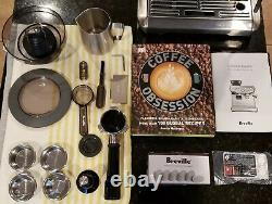Breville The Barista Express BES870XL Espresso Machine with Coffee Obsession Book