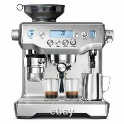 Breville The Oracle Coffee Espresso Machine Stainless Steel With all accessories