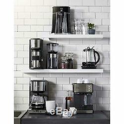 Cafe Barista Espresso Coffee Maker Cappuccino Machine Automatic Milk Frother