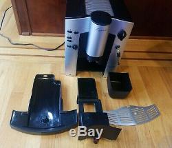 Capresso 1000 Espresso/Cappuccino Coffee Machine Barista Brewer Black/Silver