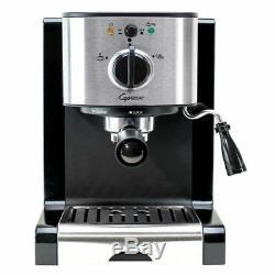 Capresso EC100 Espresso Machine, Espresso, Coffee, Lattes & Cappuccinos