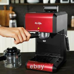 Coffee Bar Espresso Machine Milk Steam Frother Cappuccino Latte Maker Brewer