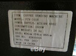 Coffee Vending Machine Espresso, Hot Cocoa, Latte, Cappuccino Model PCV-101E