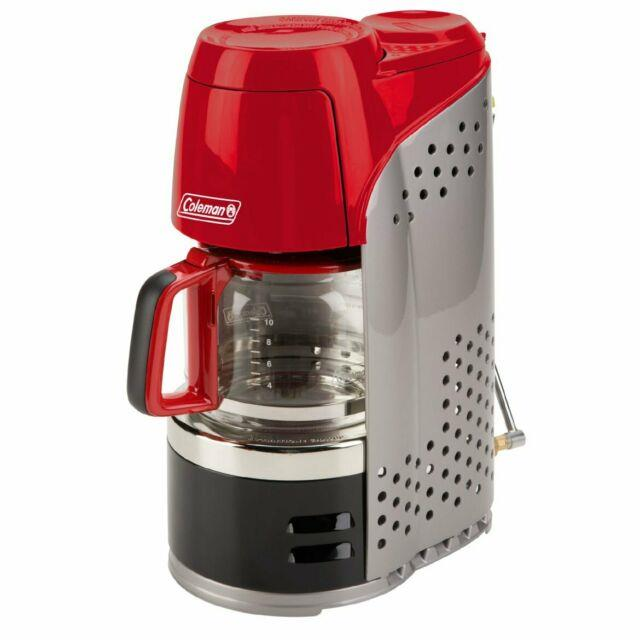 Coleman 2000020942 4500-btu 10-cup Perfectflow Quikpot Propane Coffee Maker