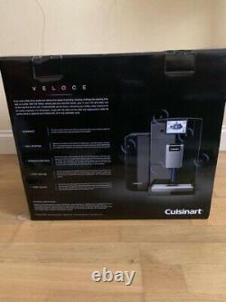 Cuisinart Veloce Bean-to-Cup Coffee Machine Built-In Automatic Milk Frother