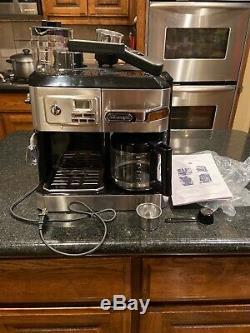 DELONGHI BCO330T All-in-One Cappuccino, Espresso Coffee Maker