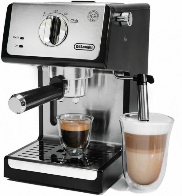 Delonghi Bar Espresso Machine Milk Steam Frother Cappuccino Latte Coffee Maker