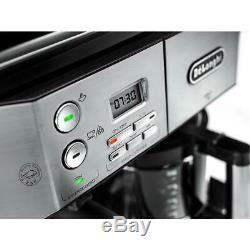 DeLonghi Combi Coffee Machine Pods Espresso Drip Filter Cappuccino Maker Frother