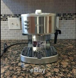 DeLonghi Commercial Espresso Machine Coffee Maker Stainless Steel Cappuccino Bar