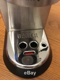 DeLonghi Dedica EC685M Coffee Machine Silver Pod 15 Bar Espresso Cappuccino