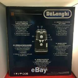 DeLonghi Distinta ECI341 BK Coffee Cappuccino Espresso Machine Black BRAND NEW