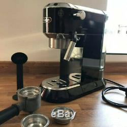 DeLonghi EC680M Dedica Manual Espresso Coffee Machine, Black