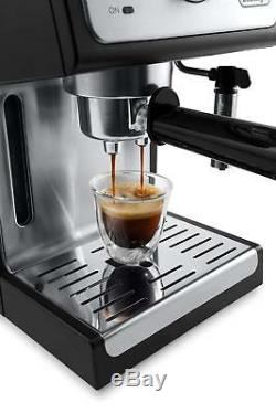 DeLonghi ECP3420 15-Bar Pump Espresso Cappuccino Machine Coffee Maker Black