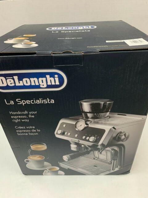 Delonghi La Specialista Espresso Cappuccino Coffee Stainless Steel Ec9335m