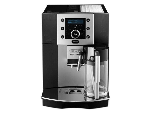 Delonghi Perfecta Esam 5500. M Espresso Cappuccino Coffee Machine Used