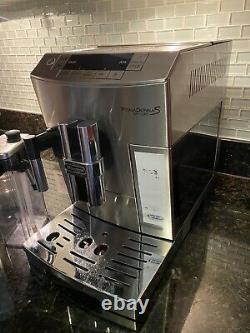 DeLonghi PrimaDonna S De Luxe ECAM 26.455. M Coffee & Espresso Machine Silver