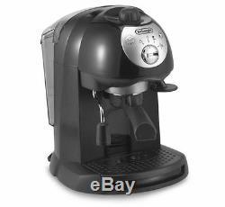 DeLonghi Retro BAR32 Espresso/Cappuccino Machine, 15-bar Pump Latte Coffee Maker