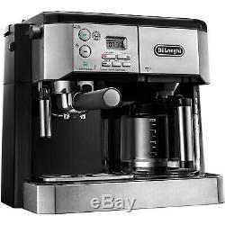 De'Longhi Combination Espresso & Coffee Machine with Advanced Cappuccino System
