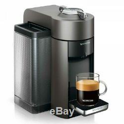 De'Longhi Nespresso VertuoLine Evoluo ENV135GY Coffee Maker Graphite