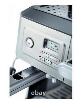 Delonghi BCO330T Drip Coffee and Espresso Machine 10 Cup Coffee Maker New