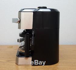 Delonghi BCO330T Programmable Combination Coffee Espresso Latte Cappuccino Maker