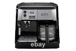 Delonghi BCO430BC All-in-One Coffee & Espresso Maker, Cappuccino, Latte Machine