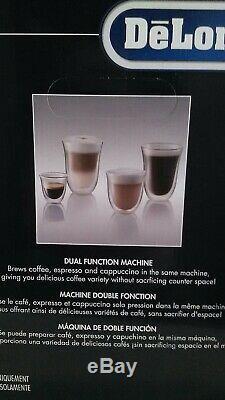Delonghi Coffee Center Coffee, Espresso And Cappuccino Type Bc0330t Brand New