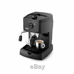Delonghi EC146. B Traditional Pump Espresso Coffee Machine Black EC146. B