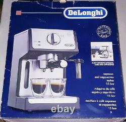 Delonghi ECP3420 15 Bar Pump Cappuccino Espresso Latte Coffee Machine Open Box
